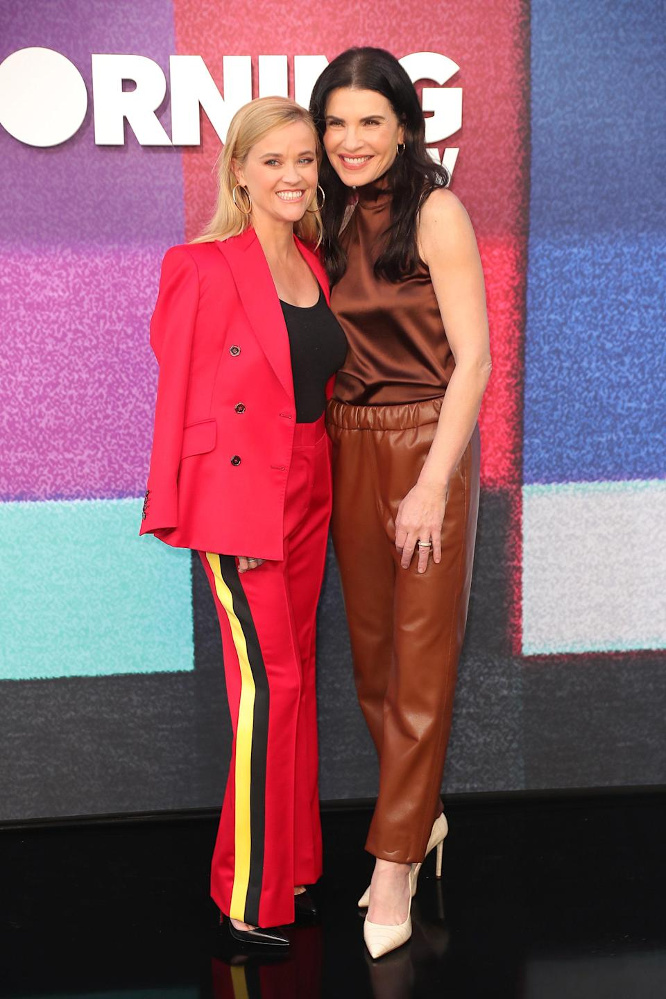 """<h1 class=""""title"""">Reese-Witherspoon-Julianna-Margulies-The-Morning-Show-red-carpet.jpg</h1><cite class=""""credit"""">Leon Bennett/Getty Images</cite>"""