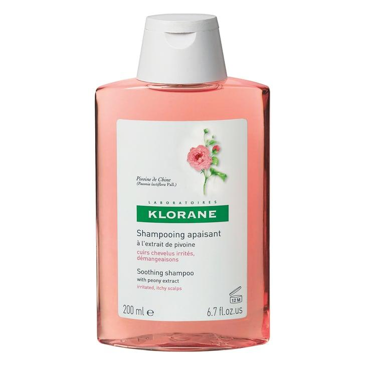 """<p>If your scalp is just a little itchy <strong>[can you explain why just a little itchy? it won't work when it's super itchy?]</strong>, try the <a href=""""https://www.popsugar.com/buy/Klorane%20Shampoo%20with%20Peony-176726?p_name=Klorane%20Shampoo%20with%20Peony&retailer=dermstore.com&price=20&evar1=bella%3Auk&evar9=46405985&evar98=https%3A%2F%2Fwww.popsugar.com%2Fbeauty%2Fphoto-gallery%2F46405985%2Fimage%2F46405994%2FKlorane-Shampoo-Peony&list1=hair%2Cbeauty%20products%2Cshampoo%2Cklorane%2Cdandruff&prop13=api&pdata=1"""" rel=""""nofollow"""" data-shoppable-link=""""1"""" target=""""_blank"""" class=""""ga-track"""" data-ga-category=""""Related"""" data-ga-label=""""http://www.dermstore.com/product_Shampoo+With+Peony_12412.htm?lid=1752296"""" data-ga-action=""""In-Line Links"""">Klorane Shampoo with Peony</a> ($20). It's made for sensitive scalps and includes alpha hydroxy acid to clear flakes away from your scalp.</p>"""