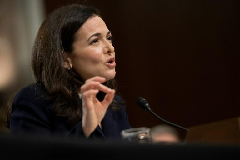 Facebook number two executive Sheryl Sandberg repeated that the social network was too slow to respond to foreign influence campaigns