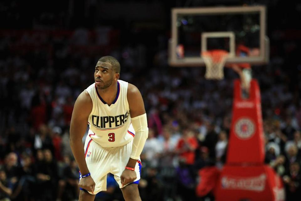 Chris Paul and the Clippers are one loss away from exiting the playoffs in the first round. (Getty)