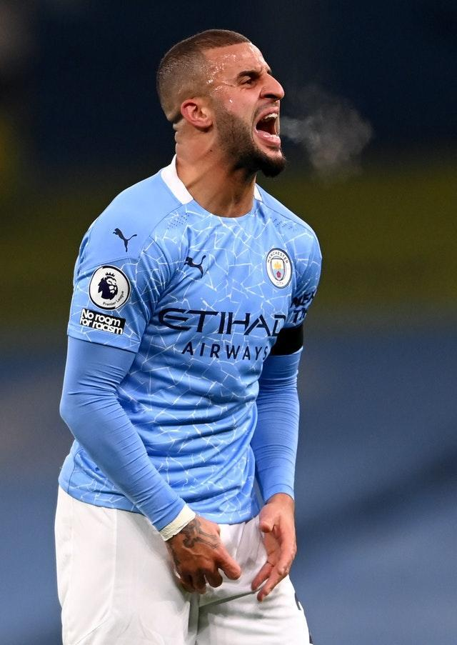 Kyle Walker tested positive for Covid-19 on Christmas Day