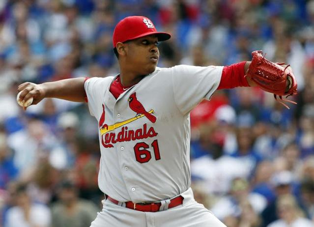 Top Cardinals pitching prospect Alex Reyes is dealing with another significant injury. (AP)