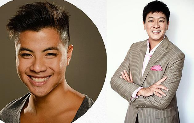 Benjamin Kheng plays Dick Lee in the National Broadway Company (Photo courtesy of Benjamin Kheng and Dick Lee)
