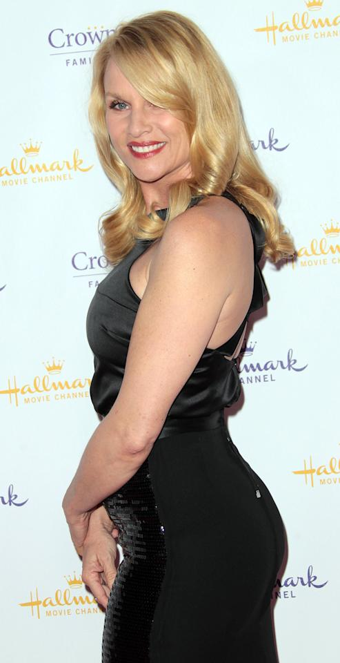 PASADENA, CA - JANUARY 14: Actress Nicollette Sheridan attends Hallmark Channel and the Hallmark Movie Channel Original Movies' Winter 2012 Television Critics Association Press Evening Gala at The Tournament House, the official home of the Tournament of Roses Foundation on January 14, 2012 in Pasadena, California.  (Photo by Frederick M. Brown/Getty Images)