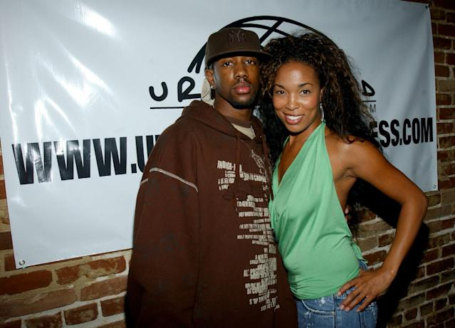 "LiL ""C"" y Josie Harris. (Photo by Maury Phillips/WireImage)"