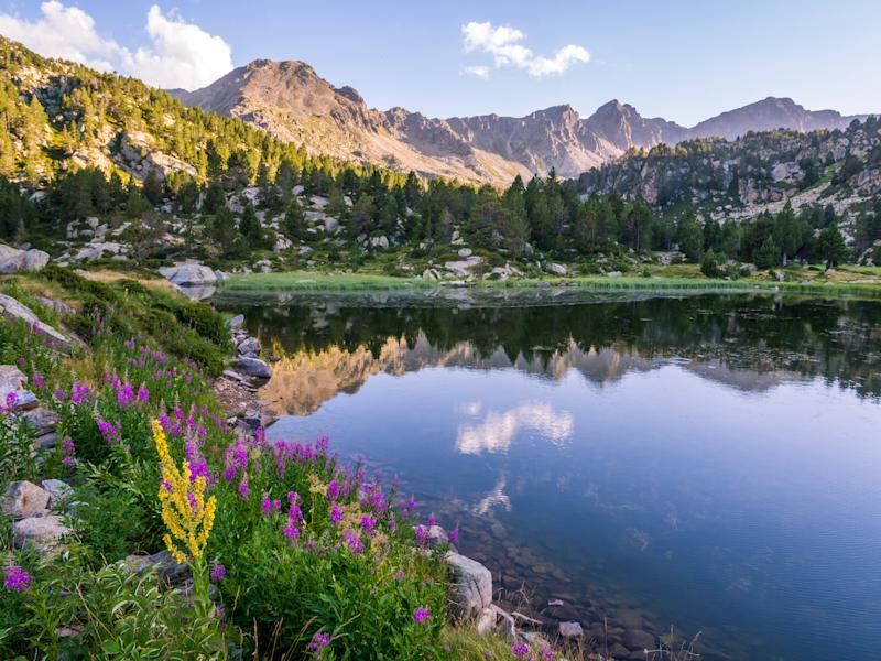 Estany Primer lake in Andorra in the Pyrenees Mountains. [Photo: Getty]