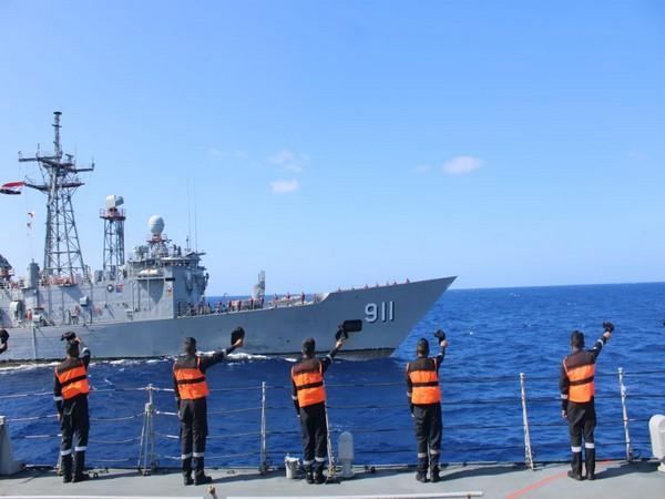 On Sunday, Indian Naval Ship Tabar has reached Alexandria harbour in Egypt as part of its ongoing overseas deployment.