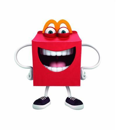 McDonald's restaurant new Happy Meal mascot
