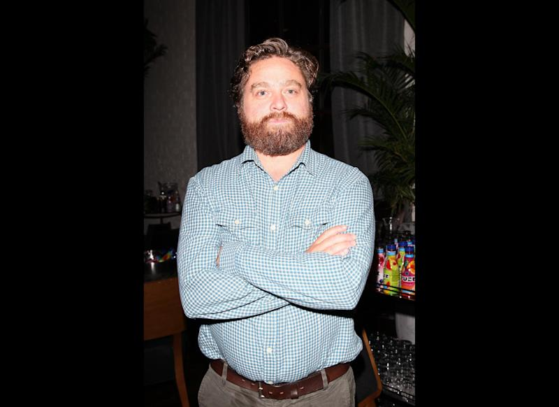 Zach Galifanakis attends the 'Kind of a Funny Story' party at Brassaii during the 35th Toronto International Film Festival on September 11, 2010 in Toronto, Canada. (Photo by Vito Amati/Getty Images)