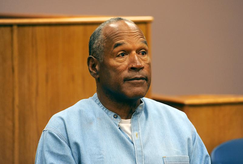 O.J. Simpson attends his parole hearing at Lovelock Correctional Center July 20, 2017 in Lovelock, Nevada. (Photo by Jason Bean-Pool/Getty Images)
