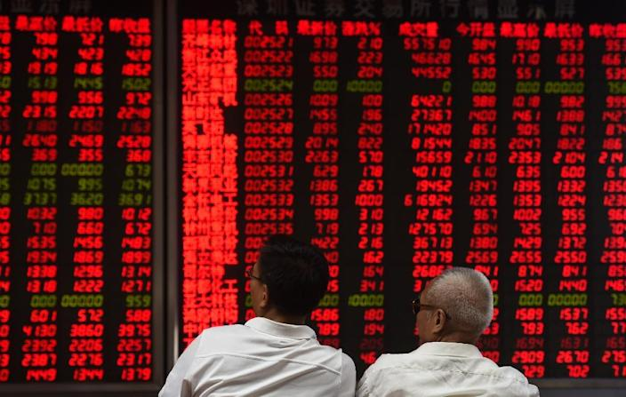 MSCI added more than 200 Chinese big-cap companies to its Emerging Markets Index earlier this year (AFP Photo/GREG BAKER)