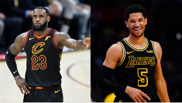 98de613b1 Maryland native Josh Hart gives LeBron Redskins fandom recruiting pitch