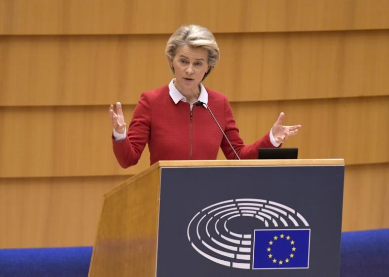 "EU chief Ursula von der Leyen assured MEPs that the agreement had ""real teeth"""