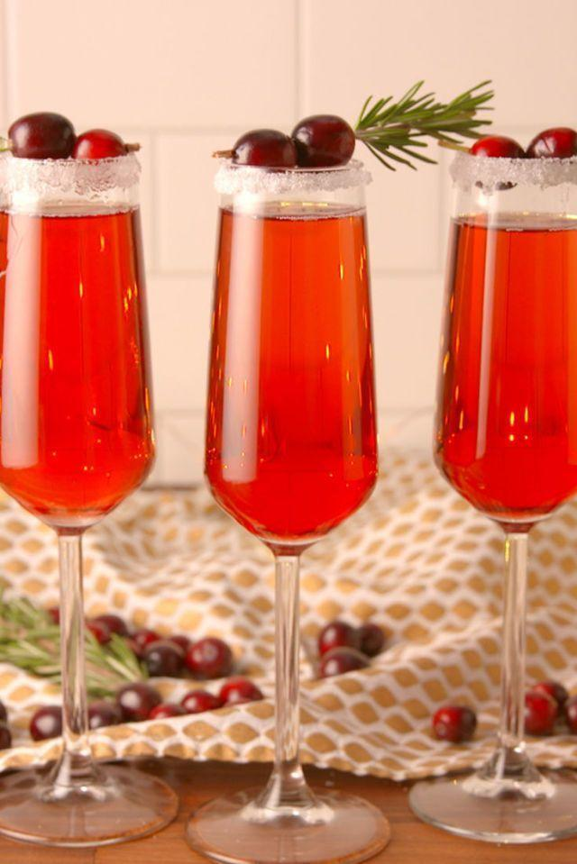 """<p>Start the day with a crispy cranberry mimosa that only takes 10 minutes to make. </p><p><em><strong>Get the recipe from <a href=""""https://www.delish.com/cooking/recipe-ideas/recipes/a50162/cranberry-mimosas-recipe/"""" rel=""""nofollow noopener"""" target=""""_blank"""" data-ylk=""""slk:Delish"""" class=""""link rapid-noclick-resp"""">Delish</a>.</strong></em></p>"""