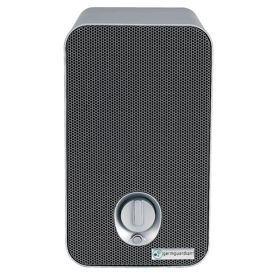 GermGuardian 3-in-1 Table Top 11 inch Air Purifier. Image via Home Depot.