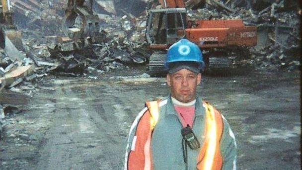 PHOTO: John Feal worked at Ground Zero immediately after the September 11th attacks and assisted with the rescue and cleanup efforts. (Courtesy John Feal/Feal Good Foundation)