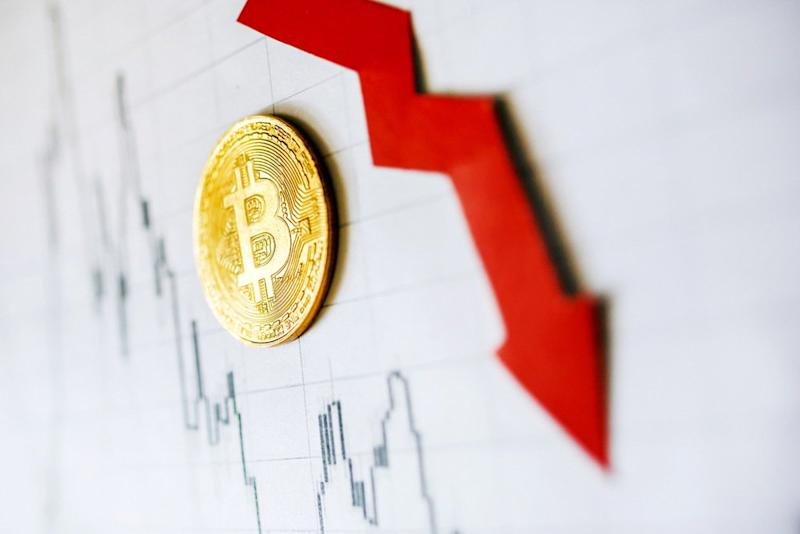 Bitcoin price just dropped nearly 18 percent. | Source: Shutterstock