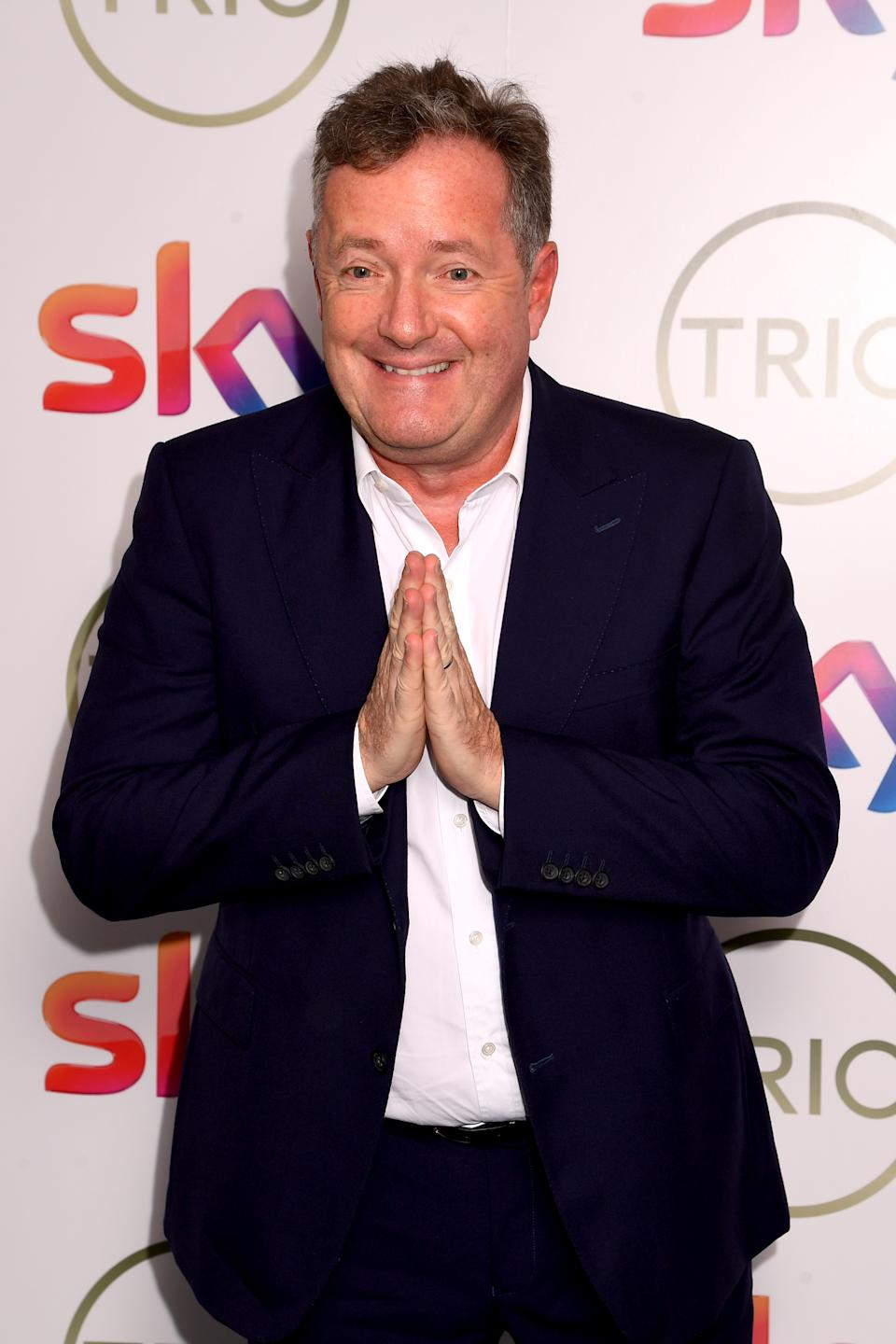 LONDON, ENGLAND - MARCH 10: Piers Morgan attends the TRIC Awards 2020 at The Grosvenor House Hotel on March 10, 2020 in London, England. (Photo by Dave J Hogan/Getty Images)