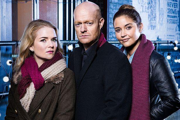 Jake's onscreen daughters are also leaving the soap. Copyright: [BBC]