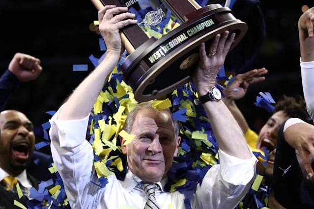 John Beilein looks to bring more trophies to Ann Arbor over the next five years. (Photo by Ezra Shaw/Getty Images)