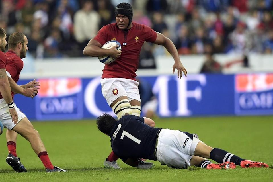 France captained, as in 2011, by fearless flanker Thierry Dusautoir, leave for the World Cup in fine fettle regardless of the many sceptics at home and abroad (AFP Photo/Lionel Bonaventure)