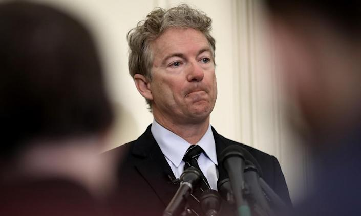 "<span class=""element-image__caption"">Senator Rand Paul: 'To really appoint the head cheerleader for waterboarding to be head of the CIA?. I mean, how could you trust somebody who did that to be in charge of the CIA?'</span> <span class=""element-image__credit"">Photograph: Win McNamee/Getty Images</span>"