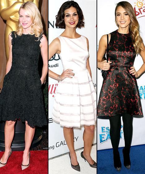 Naomi Watts, Jessica Alba, Morena Baccarin: Who Wore It Best?