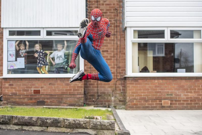 Stockport Spider-Man