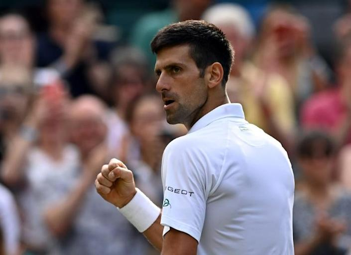 Novak Djokovic, chasing a sixth Wimbledon title and record-equalling 20th major, is already halfway to becoming just the third man to complete a calendar Grand Slam