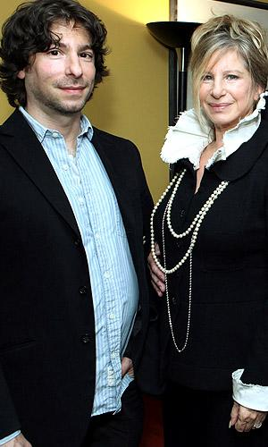 Image result for Barbra Streisand and her son