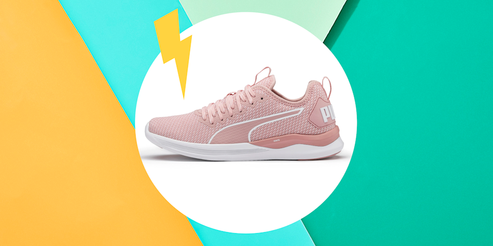 """<p>On the hunt for some stylish activewear to keep you motivated? Look no further. Right now,<a href=""""https://go.redirectingat.com?id=74968X1596630&url=https%3A%2F%2Fus.puma.com%2Fen%2Fus%2Fwomen%2Fsale&sref=https%3A%2F%2Fwww.womenshealthmag.com%2Ffitness%2Fg32334831%2Fpuma-sale%2F"""" rel=""""nofollow noopener"""" target=""""_blank"""" data-ylk=""""slk:PUMA's sale section"""" class=""""link rapid-noclick-resp""""> PUMA's sale section</a> is filled with a bunch of great pieces to take your at-home workout to the next level. </p><p>As one of the biggest fittest brands around, <a href=""""https://go.redirectingat.com?id=74968X1596630&url=https%3A%2F%2Fus.puma.com%2Fen%2Fus%2Fhome&sref=https%3A%2F%2Fwww.womenshealthmag.com%2Ffitness%2Fg32334831%2Fpuma-sale%2F"""" rel=""""nofollow noopener"""" target=""""_blank"""" data-ylk=""""slk:PUMA"""" class=""""link rapid-noclick-resp"""">PUMA</a> is known for making clothes and sneakers that look good and are <em>actually </em>comfortable. Whether you want to pick up a new pair of sneakers, stock up on leggings, or buy yet another pair of sweats (um, yes please), PUMA's sale section has something for everyone.</p><p>But just because you're staying inside for the foreseeable future doesn't mean you have all day to shop. (I mean, Netflix exists.) To help, check out these 10 deals worth adding to your cart.</p>"""