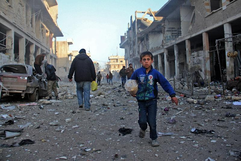 More than 300,000 people have been killed in Syria's nearly six-year war (AFP Photo/Omar haj kadour)