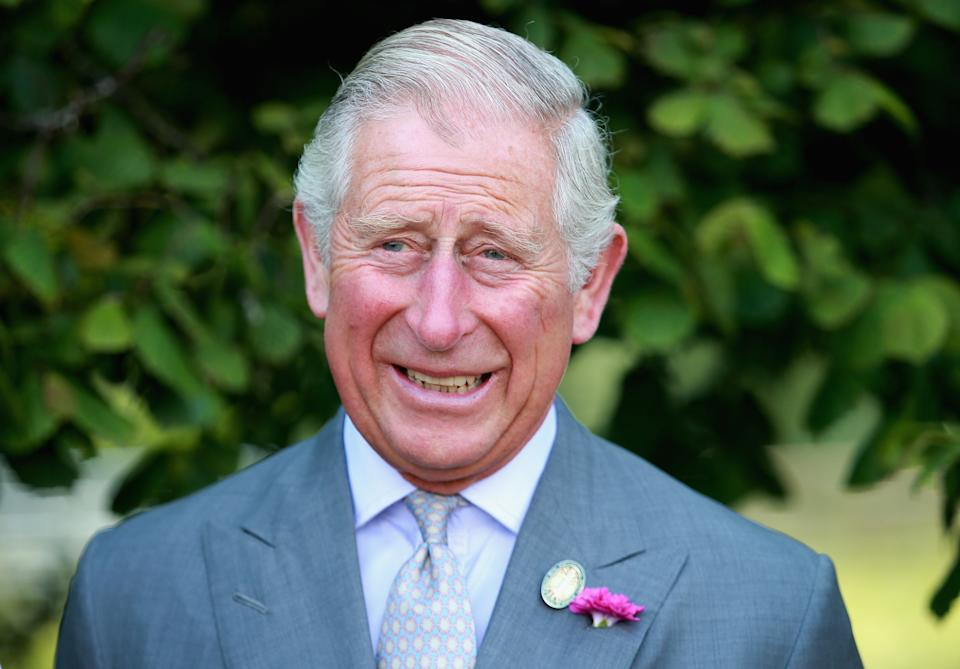 MONMOUTH, WALES - JULY 09:  Prince Charles, Prince of Wales visits Humble by Nature Farm on July 9 2015 in Monmouth, Wales. Humble by Nature is a working farm which was saved from closure by Kate Humble and her husband Ludo Graham in 2010. It includes a rural skills centre as well as a farm shop, cafe and adventure playground.  (Photo by Chris Jackson/Getty Images)