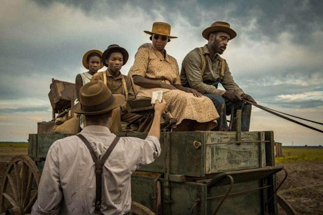 Garrett Hedlund, Mary J. Blige and Rob Morgan in 'Mudbound' (Netflix)