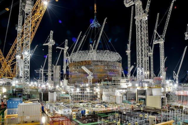 Hinkley Point construction