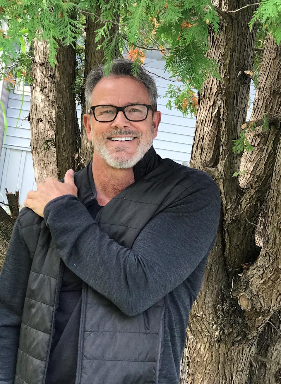 Tom Ernsting, 60, lives part of the year at his home in South Haven, Michigan. He's worked to build a social media presence but has seen scammers steal his image to use in romance scams.