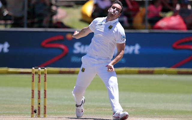 <span>Kyle Abbott turned his back on South Africa to join Hampshire</span> <span>Credit: Getty Images </span>