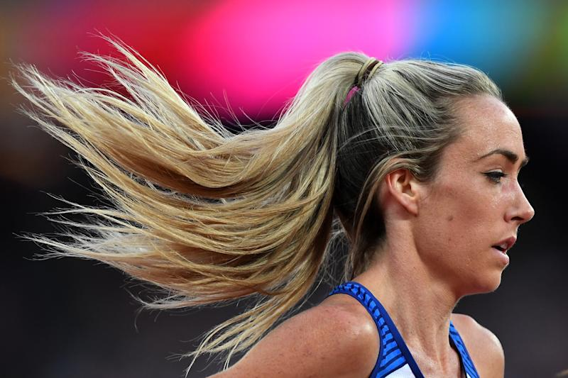 McColgan during the IAAF World Athletics Championships London 2017. (Credit: Getty Images)