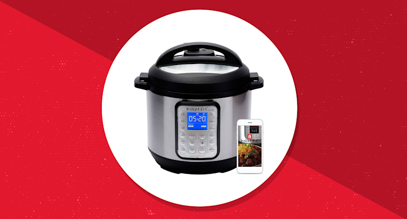 Save $60 on the smart Instant Pot WiFi. (Photo: Amazon/Yahoo Lifestyle)