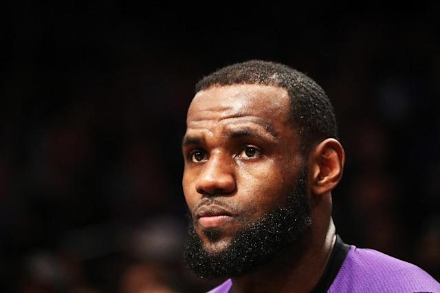 The NBA reportedly does not plan to fine Lebron James over the controversial post (AFP Photo/AL BELLO)
