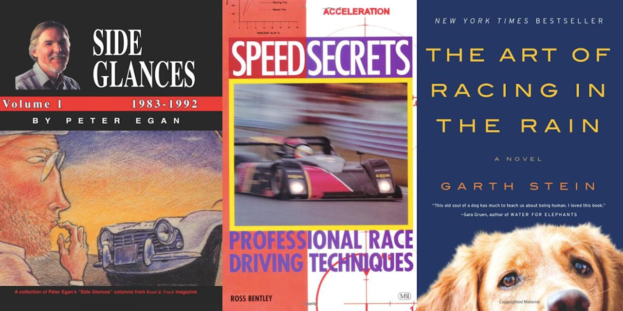 <p>Whether it's a technical handbook on how to improve your racing line or a creative examination of the hobby we love, these are our favorite automotive reading materials.</p>