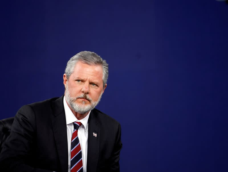 U.S. evangelical leader Falwell to leave university after personal scandal