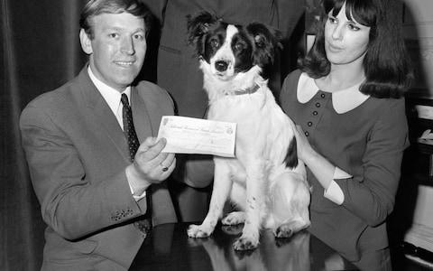 The story of Pickles the dog earning its owner a cash prize for finding the treasure has gone down in history - Credit: PA Archive