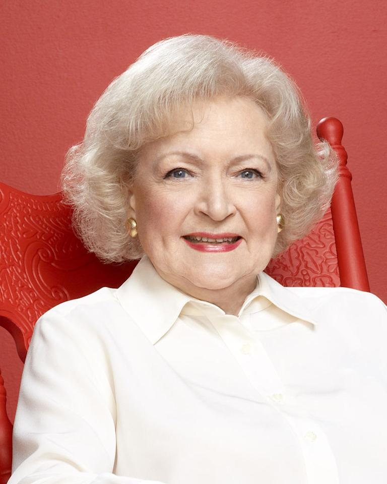 "Betty White, 90 (""<a href=""/hot-in-cleveland/show/46056"">Hot in Cleveland</a>,"" ""<a href=""/betty-white-39-s-off-their-rockers/show/47271"">Off Their Rockers</a>""): During her impressive seven-decade career, Betty White has done it all. The timeless comedienne has produced, acted, modeled, snagged multiple Emmy Awards, and -- wait for it -- recorded <a href=""http://www.wetpaint.com/network/video/must-watch-betty-white-raps-im-still-hot"" rel=""nofollow"">her own rap song</a>. In 2010, she managed to turn her guest spot as Elka, the alcoholic house caretaker, on ""Hot in Cleveland"" into a recurring role. The show wouldn't be the same without her."