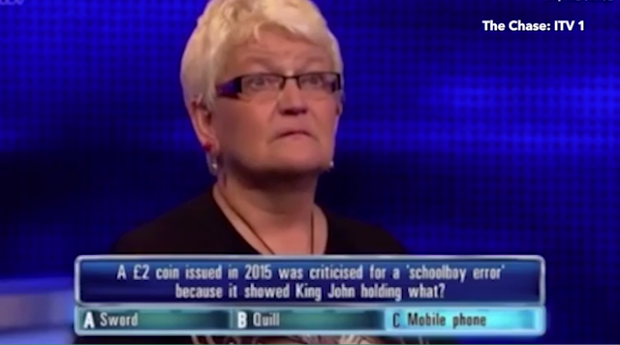 Confused on The Chase (Photo: ITV/Gala Bingo)