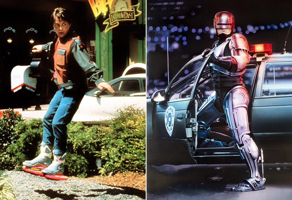 Back to the Future/Robocop