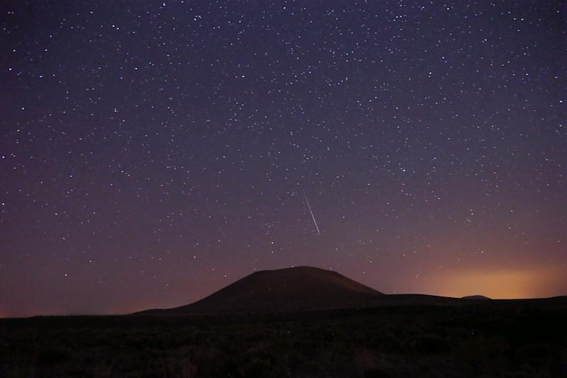 Ugh, the moon might be too bright for you to see the meteor shower tonight