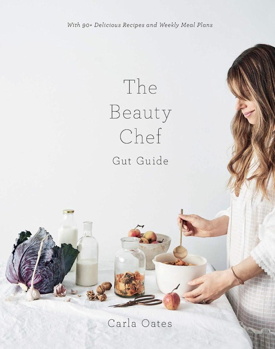 "<p><span><strong>The Beauty Chef Gut Guide: With 90+ Delicious Recipes and Weekly Meal Plans</strong></span> ($22) lays out an 8-week program to ""repair"" your gut. The Carla Oates book also provides more general wellness advice and breaks down the science behind gut health.</p> <p>Click <a href=""https://www.popsugar.com/smart-living/Health-Wellness-Tips-46521311"" class=""link rapid-noclick-resp"" rel=""nofollow noopener"" target=""_blank"" data-ylk=""slk:here for more health and wellness stories, tips, and news"">here for more health and wellness stories, tips, and news</a>.</p>"