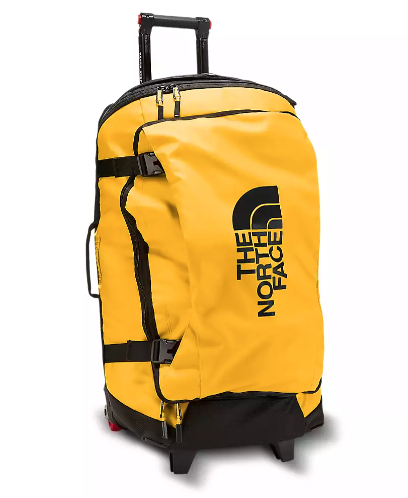 """<h2>Best Heavy Duty Rolling Luggage<br></h2><br><h3>The North Face Rolling Thunder—30<br></h3><br>Whether you like treacherous and rough outdoor excursions or you're just on the clumsier side, this Rolling Thunder bag's heavy-duty self-cleaning wheels will never let your bag take a tumble. <br><br><strong>The Hype</strong>: 4.5 stars and 519 reviews<br><br><strong>Out Of Towners say</strong>: """"Now besides the stylish look and capacity, my favorite part is the wheels...[they] are heavy-duty and amazing. Sometimes the four-wheelers get a little annoying even though they are convenient. The wheels will roll over curbs and keep you moving on your journey with ease!""""<br><br><strong><em><a href=""""https://www.thenorthface.com/"""" rel=""""nofollow noopener"""" target=""""_blank"""" data-ylk=""""slk:Shop The North Face"""" class=""""link rapid-noclick-resp"""">Shop The North Face</a></em></strong><br><br><strong>The North Face</strong> Rolling Thunder—30"""", $, available at <a href=""""https://go.skimresources.com/?id=30283X879131&url=https%3A%2F%2Fwww.thenorthface.com%2Fshop%2Frolling-thunder%25E2%2580%259430-inch-nf0a3c93"""" rel=""""nofollow noopener"""" target=""""_blank"""" data-ylk=""""slk:The North Face"""" class=""""link rapid-noclick-resp"""">The North Face</a>"""