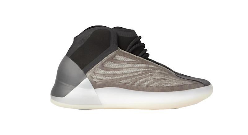 Yeezy Quantum Suede-Trimmed Primeknit and Neoprene Sneakers